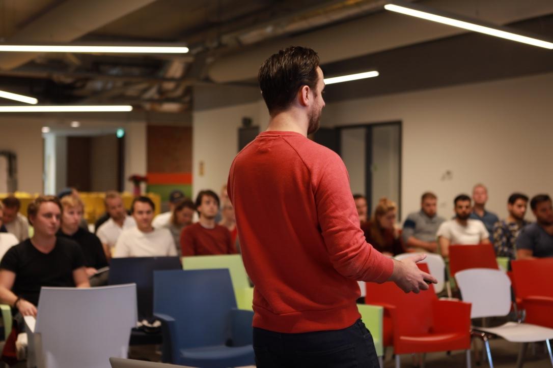 Workshop klantinterviews in de praktijk door Wordlenig op het Saxion