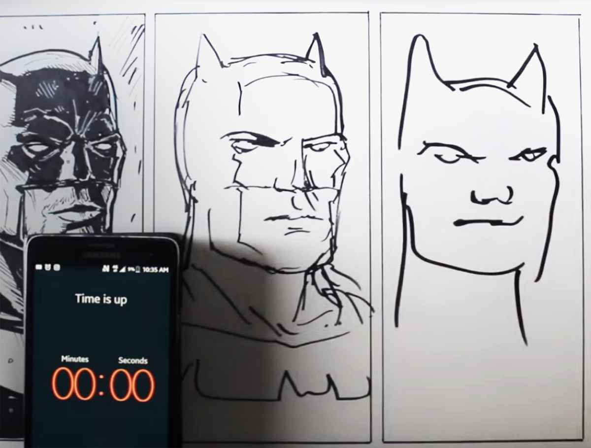 Een lesje wendbaarheid van Batman
