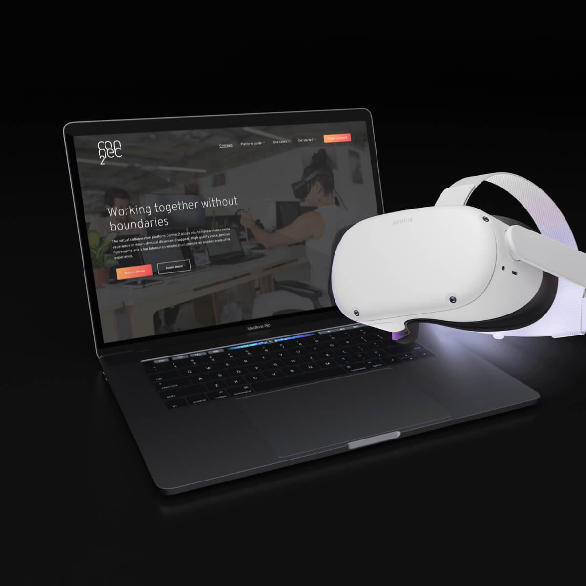 VR website design