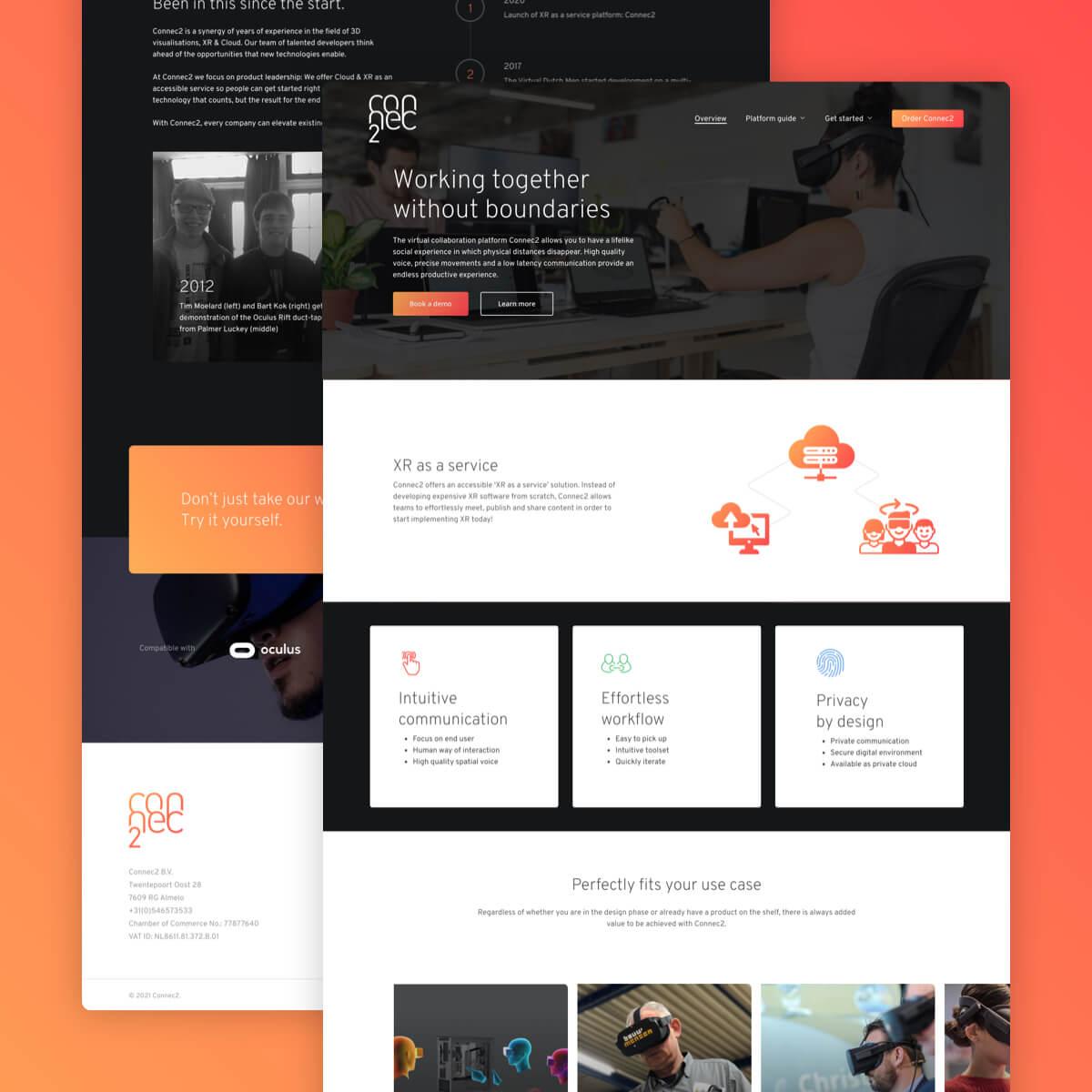 vr webdesign